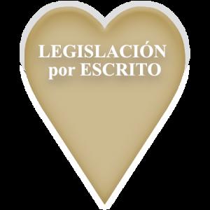 Legislación por Escrito