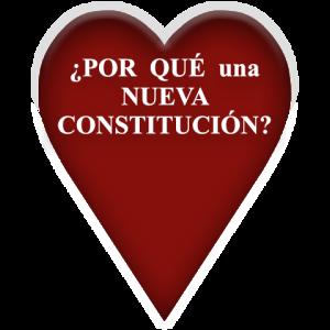 ¿Por qué una nueva Constitución?