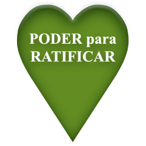 Poder para Ratificar